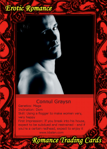 Connul Trading Card Back
