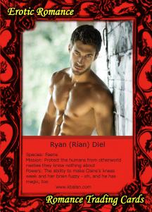 Ryan Trading Card Back