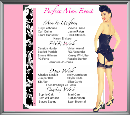 Perfect Man Event flyer