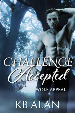 Challenge Accepted Cover for werewolf romance