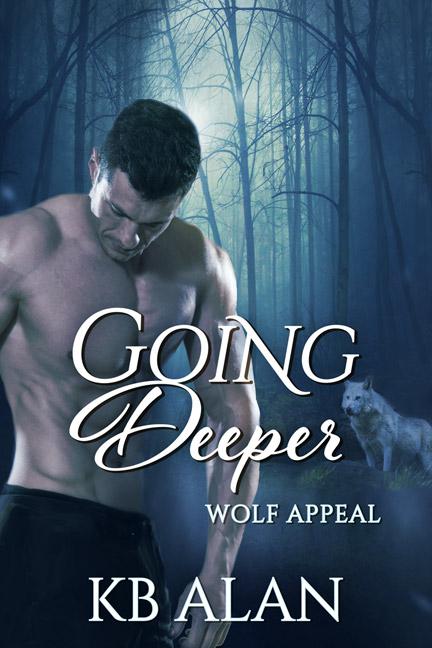 Cover of werewolf romance Going Deeper