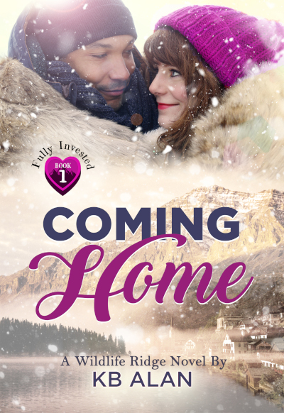 Coming Home Cover for small town romance novel