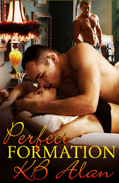 Cover for erotic romance Perfect Formation